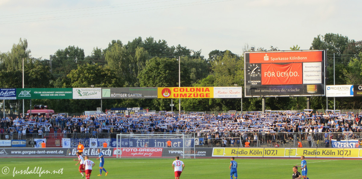Südstadion Köln Gästeblock