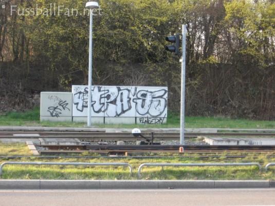 Ultras Graffiti Düsseldorf