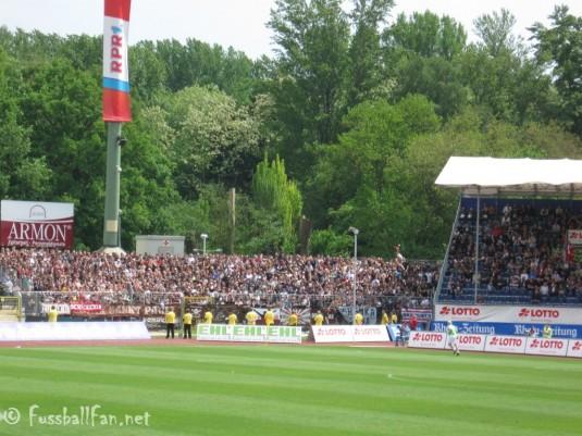 TUS Koblenz - FC St. Pauli Gästeblock