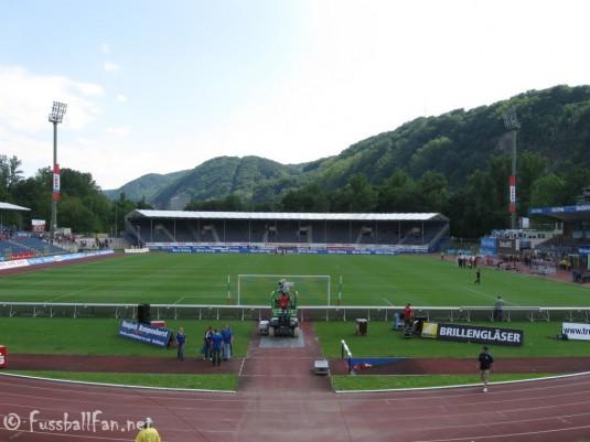 Stadion Oberwerth Südkurve