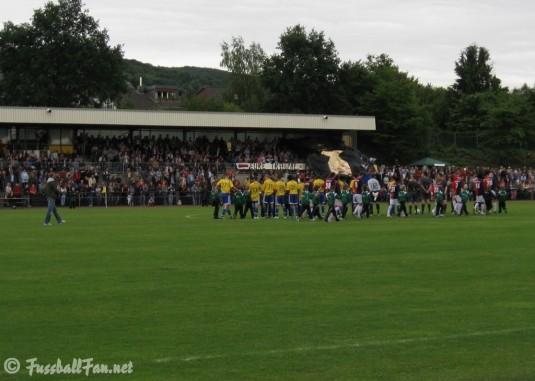 Choreo der Dattelfelder Fans