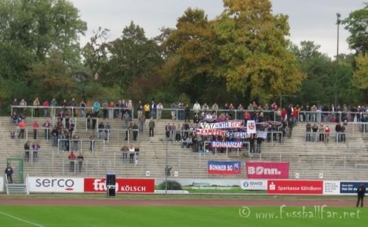 04.10.09 Bonner SC : Waldhof Mannheim - 101% Hinter Euch Kämpfen und Siegen