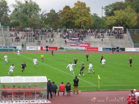 Bonner SC im Angriff - Bonner SC : Waldhof Mannheim